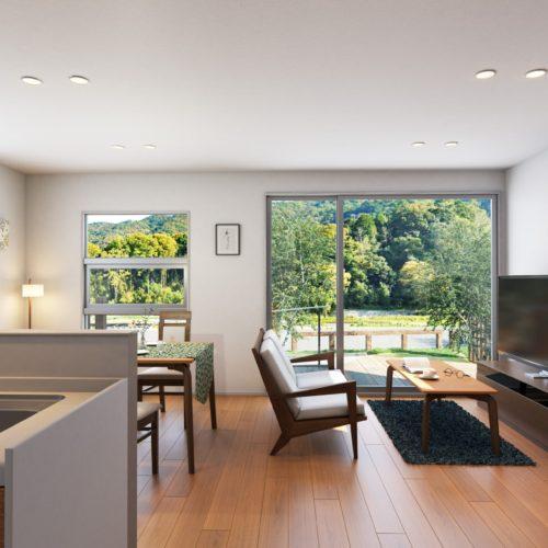 シニア向け一戸建て賃貸住宅彩りの郷リベルテ東山2021年4月より入居開始予定